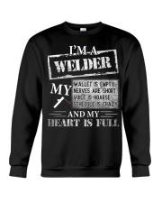 THE WELDER'S HEART IS FULL Crewneck Sweatshirt thumbnail
