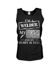 THE WELDER'S HEART IS FULL Unisex Tank thumbnail