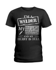 THE WELDER'S HEART IS FULL Ladies T-Shirt thumbnail