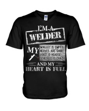 THE WELDER'S HEART IS FULL V-Neck T-Shirt thumbnail