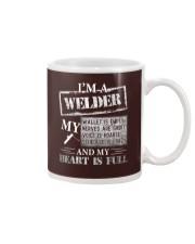 THE WELDER'S HEART IS FULL Mug thumbnail