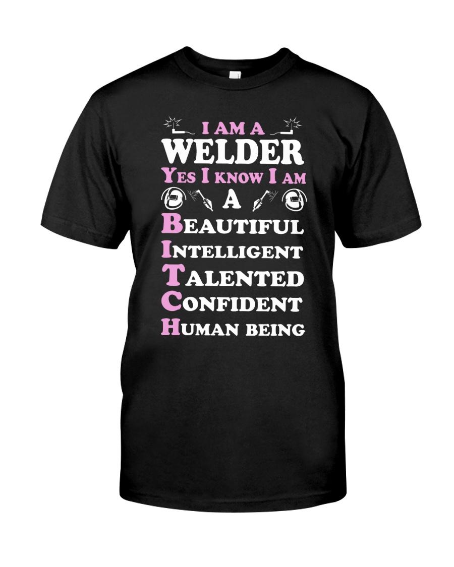 WELDERS HUMAN BEING Classic T-Shirt