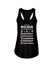 WELDERS HUMAN BEING Ladies Flowy Tank thumbnail