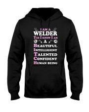 WELDERS HUMAN BEING Hooded Sweatshirt thumbnail