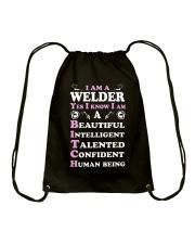 WELDERS HUMAN BEING Drawstring Bag thumbnail