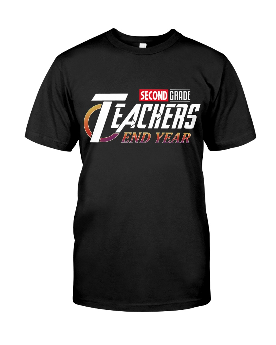 END YEAR 2ND GRADE Classic T-Shirt