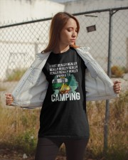 REALLY WANNA GO CAMPING Classic T-Shirt apparel-classic-tshirt-lifestyle-07