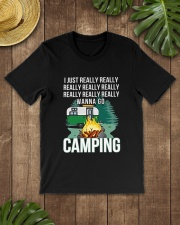 REALLY WANNA GO CAMPING Classic T-Shirt lifestyle-mens-crewneck-front-18