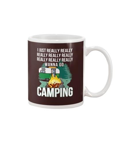 REALLY WANNA GO CAMPING