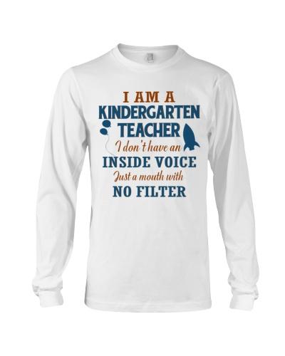 KINDERGARTEN TEACHER WITH NO INSIDE VOICE