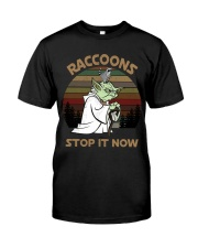 STOP IT NOW RACCOONS Classic T-Shirt thumbnail