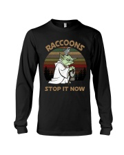 STOP IT NOW RACCOONS Long Sleeve Tee thumbnail