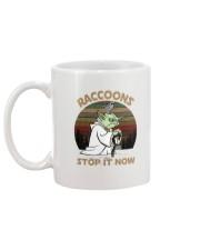 STOP IT NOW RACCOONS Mug back