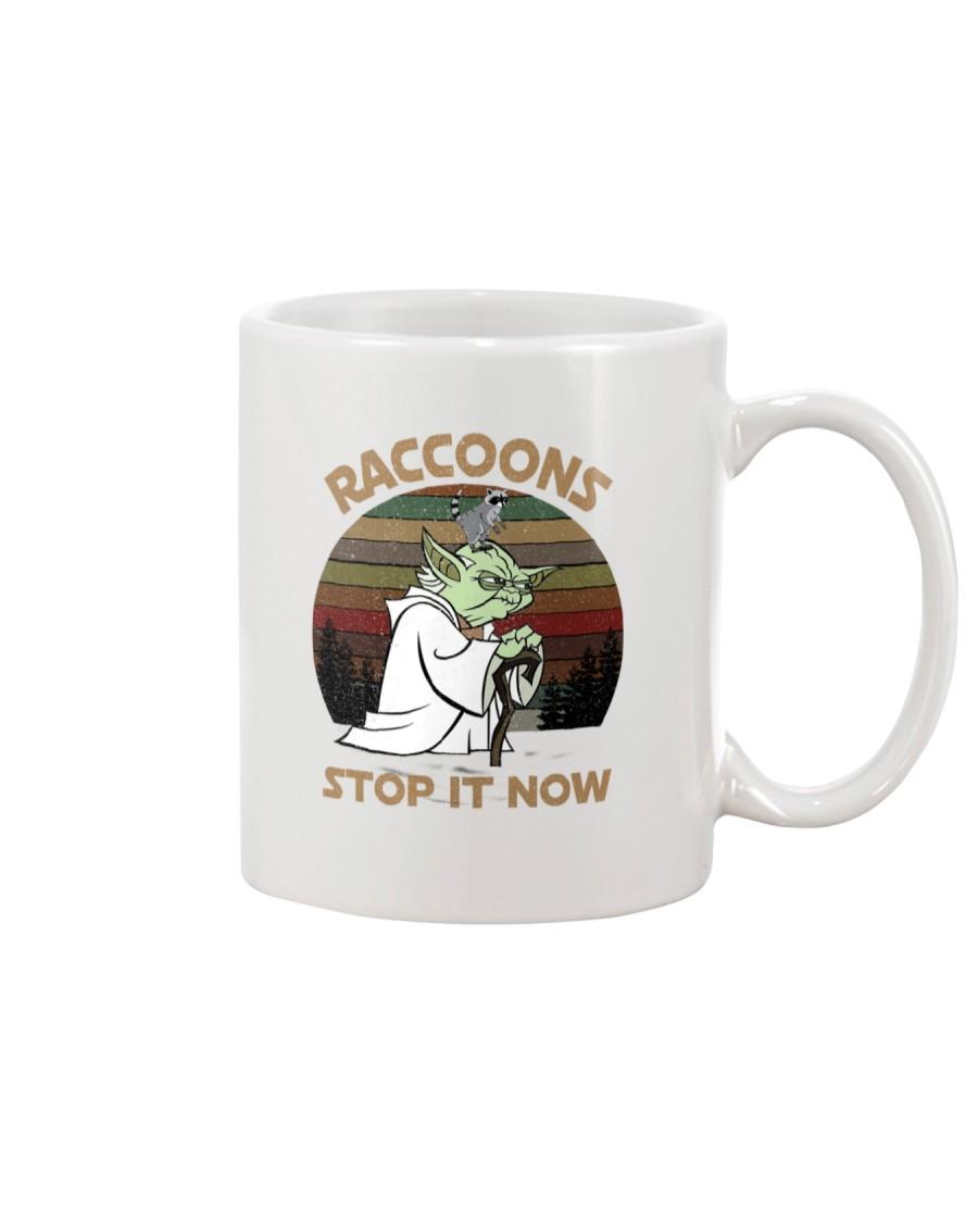 STOP IT NOW RACCOONS Mug