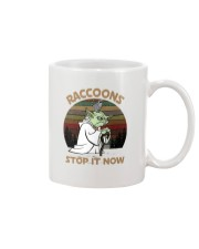 STOP IT NOW RACCOONS Mug front