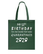 THE 50TH BIRTHDAY IN 2020 Tote Bag thumbnail