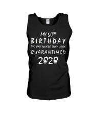 THE 50TH BIRTHDAY IN 2020 Unisex Tank thumbnail