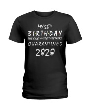 THE 50TH BIRTHDAY IN 2020 Ladies T-Shirt thumbnail