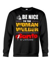 BE NICE TO WELDER Crewneck Sweatshirt thumbnail