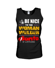 BE NICE TO WELDER Unisex Tank thumbnail