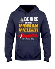 BE NICE TO WELDER Hooded Sweatshirt thumbnail