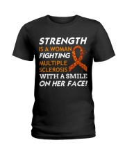 STRENGTH OF MS Ladies T-Shirt thumbnail
