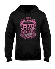 BIRTHDAY GIFT MAR 1970 Hooded Sweatshirt thumbnail