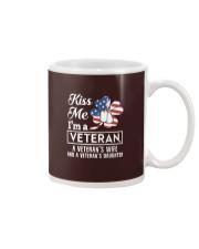 KISS ME VETERAN VETERAN'S WIFE AND DAUGHTER Mug thumbnail