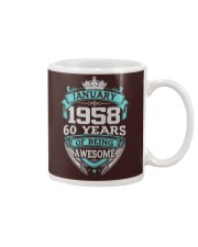 Happy Birthday January 58 Mug thumbnail