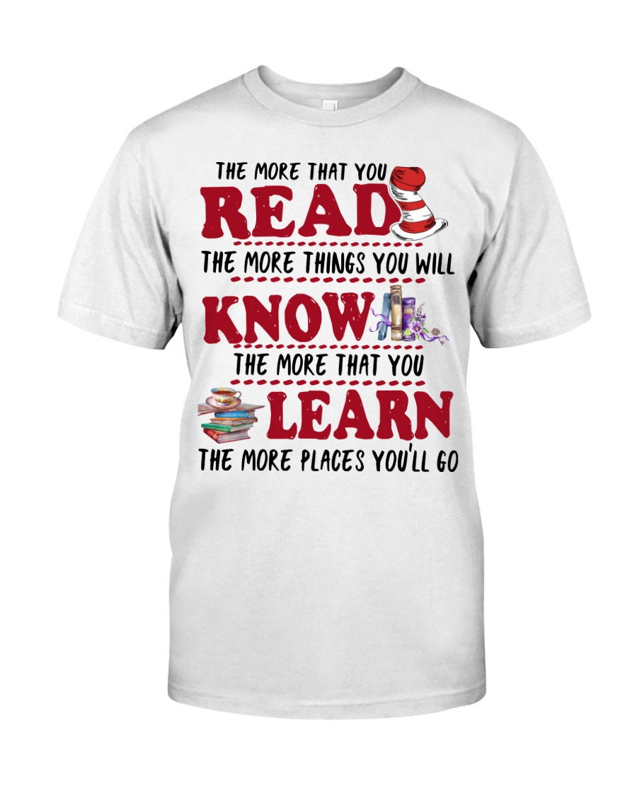 READ MORE AND MORE Classic T-Shirt