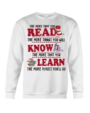 READ MORE AND MORE Crewneck Sweatshirt thumbnail