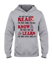 READ MORE AND MORE Hooded Sweatshirt thumbnail