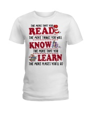 READ MORE AND MORE Ladies T-Shirt thumbnail