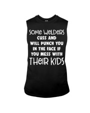 DON'T MESS WITH WELDER'S KIDS Sleeveless Tee thumbnail
