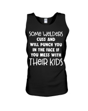 DON'T MESS WITH WELDER'S KIDS Unisex Tank thumbnail