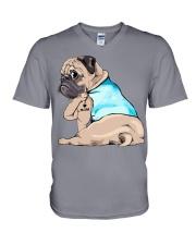 pet dog V-Neck T-Shirt thumbnail