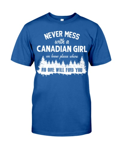 NEVER MESS WITH CANADIAN GIRL