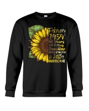 HAPPY BIRTHDAY FEBRUARY 1959 Crewneck Sweatshirt tile
