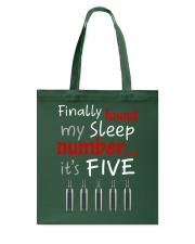 MY SLEEP NUMBER 5 BOTTLES Tote Bag thumbnail