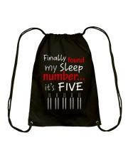 MY SLEEP NUMBER 5 BOTTLES Drawstring Bag thumbnail
