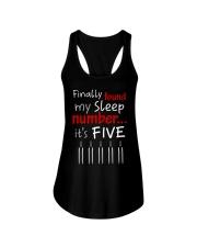MY SLEEP NUMBER 5 BOTTLES Ladies Flowy Tank thumbnail
