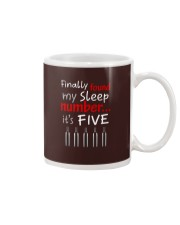 MY SLEEP NUMBER 5 BOTTLES Mug thumbnail
