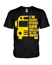 ROLLING BY THAT WAY V-Neck T-Shirt thumbnail