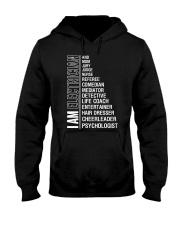 I AM ELECTRICIAN Hooded Sweatshirt thumbnail