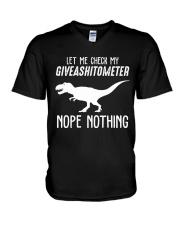 NOPE NOTHING V-Neck T-Shirt thumbnail