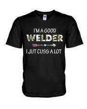 GOOD WELDERS V-Neck T-Shirt thumbnail