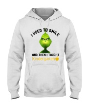 GRINCH WITH KIDS Hooded Sweatshirt thumbnail