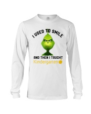 GRINCH WITH KIDS Long Sleeve Tee thumbnail