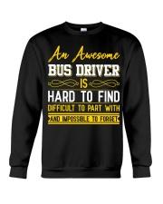 AN AWESOME BUS DRIVER  Crewneck Sweatshirt thumbnail