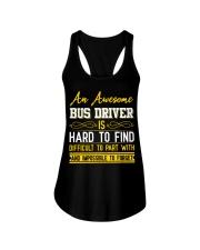 AN AWESOME BUS DRIVER  Ladies Flowy Tank thumbnail